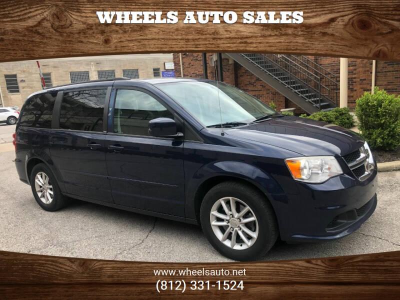 2014 Dodge Grand Caravan for sale at Wheels Auto Sales in Bloomington IN