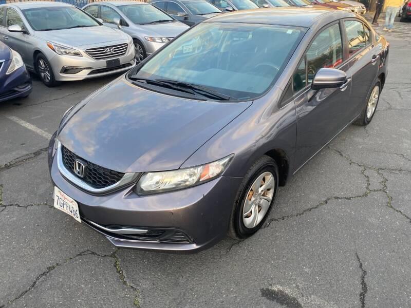 2014 Honda Civic for sale at 101 Auto Sales in Sacramento CA