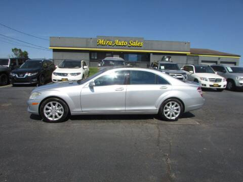 2007 Mercedes-Benz S-Class for sale at MIRA AUTO SALES in Cincinnati OH