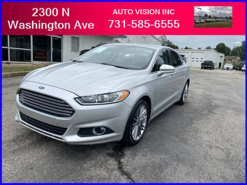 2013 Ford Fusion for sale at Auto Vision Inc. in Brownsville TN