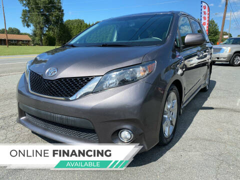 2013 Toyota Sienna for sale at Auto Store of NC in Walkertown NC