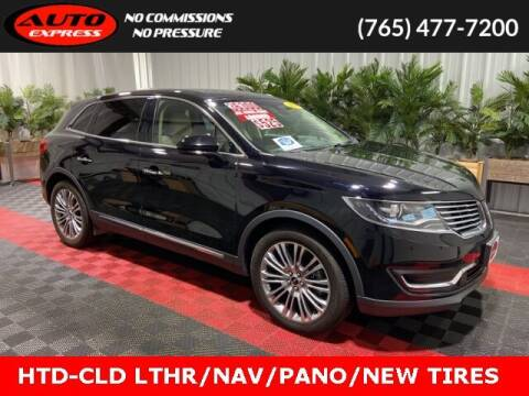 2018 Lincoln MKX for sale at Auto Express in Lafayette IN