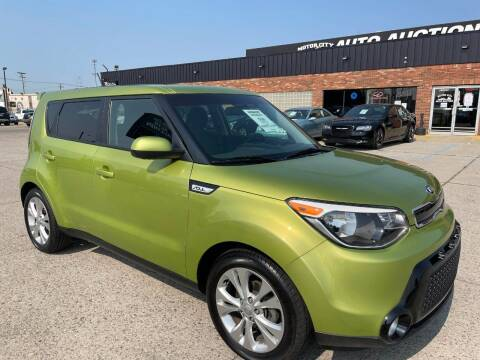 2016 Kia Soul for sale at Motor City Auto Auction in Fraser MI