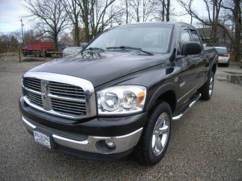 2008 Dodge Ram Pickup 1500 for sale at HALL OF FAME MOTORS in Rittman OH