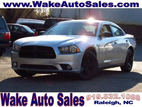 2014 Dodge Charger for sale at Wake Auto Sales Inc in Raleigh NC