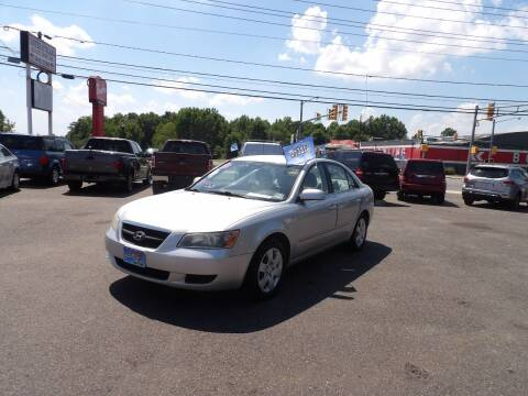 2007 Hyundai Sonata for sale at United Auto Land in Woodbury NJ
