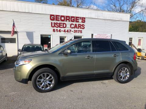 2013 Ford Edge for sale at George's Used Cars Inc in Orbisonia PA