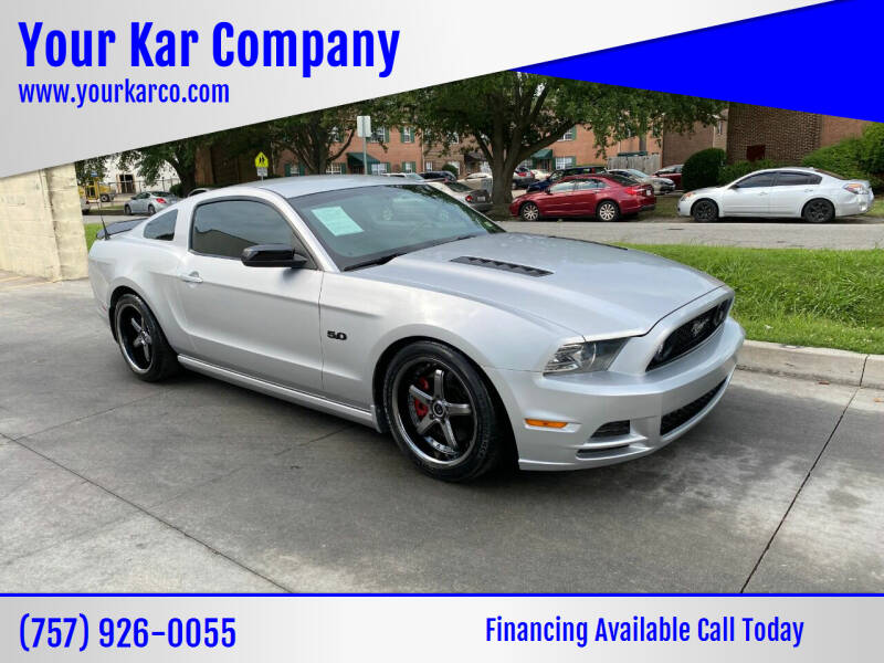 2014 Ford Mustang for sale at Your Kar Company in Norfolk VA