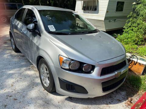 2013 Chevrolet Sonic for sale at Ideal Motors in Oak Hill FL