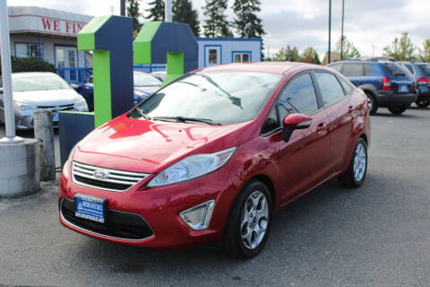 2011 Ford Fiesta for sale at BAYSIDE AUTO SALES in Everett WA