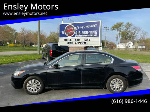2011 Honda Accord for sale at Ensley Motors in Allendale MI