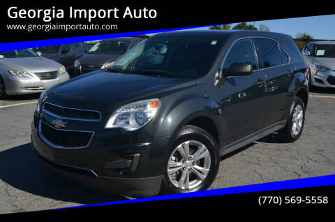 2014 Chevrolet Equinox for sale at Georgia Import Auto in Alpharetta GA