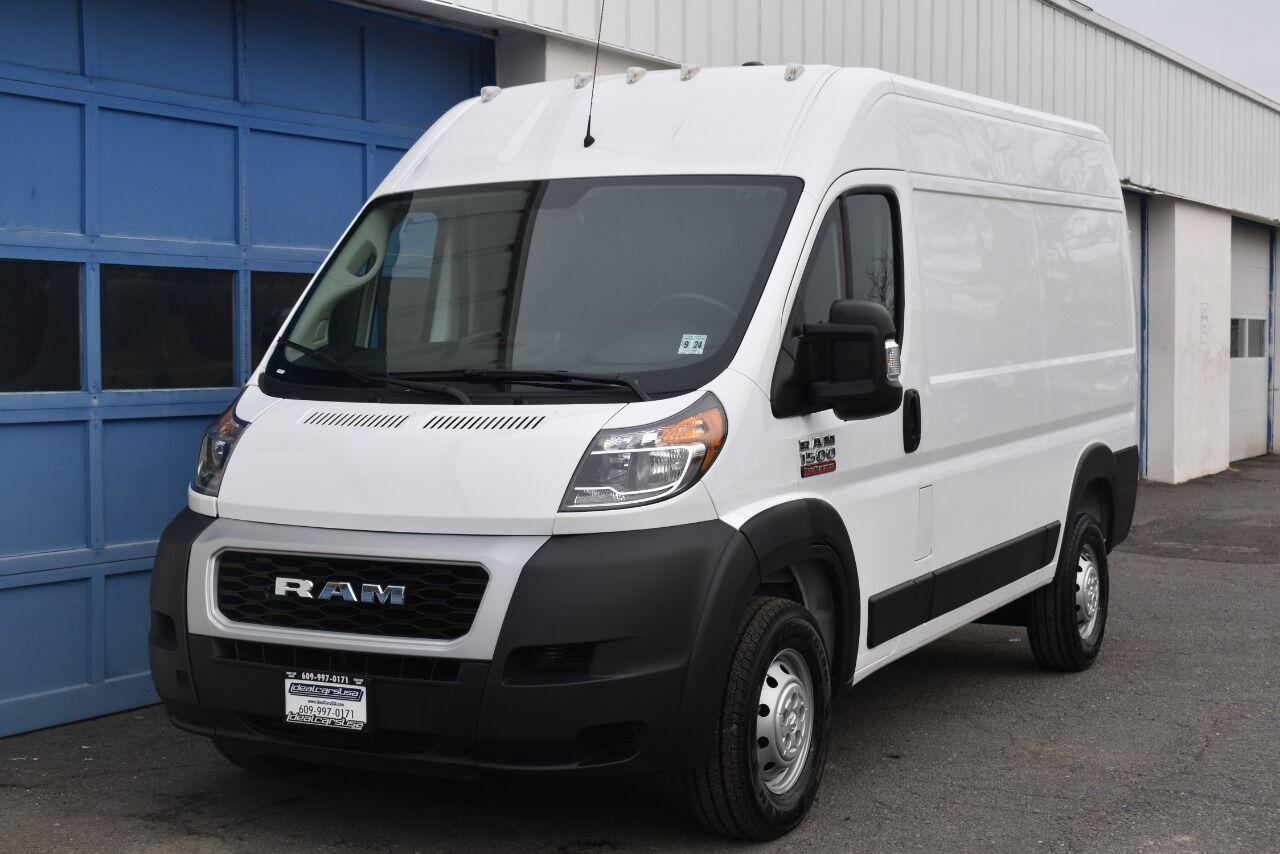 2019 RAM ProMaster Cargo 1500 136 WB 3dr High Roof Cargo Van