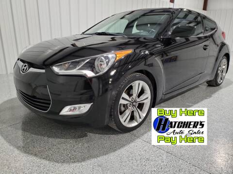 2015 Hyundai Veloster for sale at Hatcher's Auto Sales, LLC - Buy Here Pay Here in Campbellsville KY