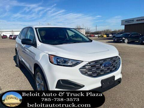 2020 Ford Edge for sale at BELOIT AUTO & TRUCK PLAZA INC in Beloit KS