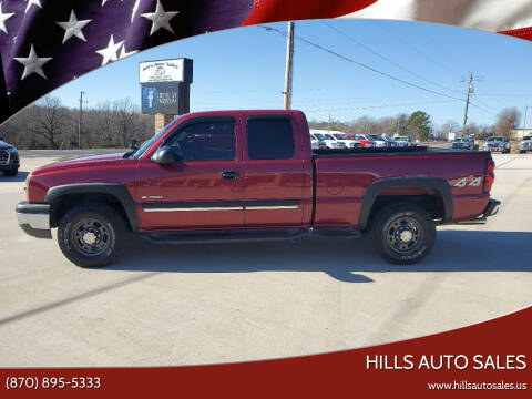 2004 Chevrolet Silverado 2500 for sale at Hills Auto Sales in Salem AR