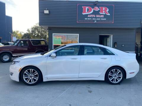 2013 Lincoln MKZ for sale at D & R Auto Sales in South Sioux City NE