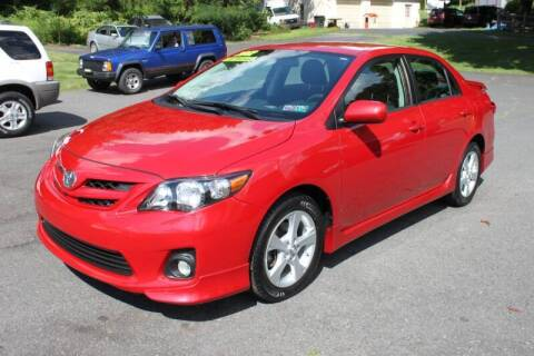 2012 Toyota Corolla for sale at Mayer Motors of Pennsburg in Pennsburg PA