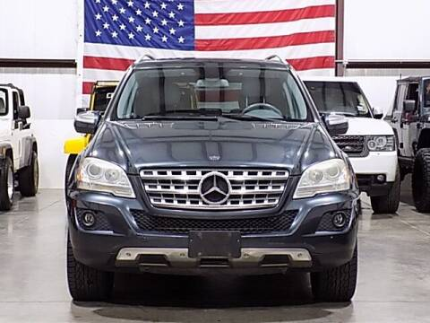 2010 Mercedes-Benz M-Class for sale at Texas Motor Sport in Houston TX