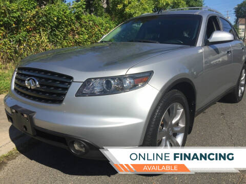 2005 Infiniti FX35 for sale at New Jersey Auto Wholesale Outlet in Union Beach NJ