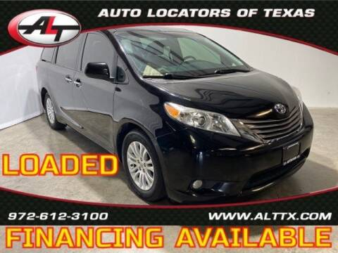 2017 Toyota Sienna for sale at AUTO LOCATORS OF TEXAS in Plano TX