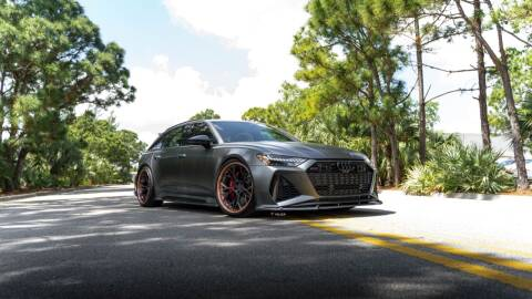 2021 Audi RS 6 for sale at EURO STABLE in Miami FL