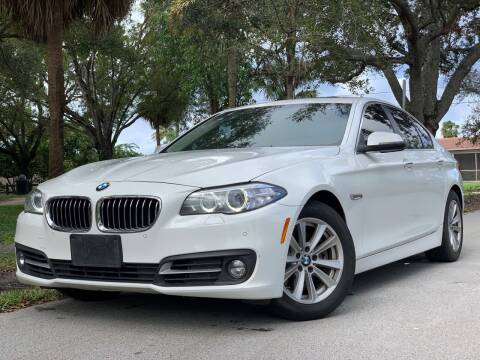 2015 BMW 5 Series for sale at HIGH PERFORMANCE MOTORS in Hollywood FL
