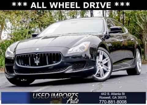 2014 Maserati Quattroporte for sale at Used Imports Auto in Roswell GA