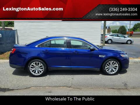 2014 Ford Taurus for sale at LexingtonAutoSales.com in Lexington NC