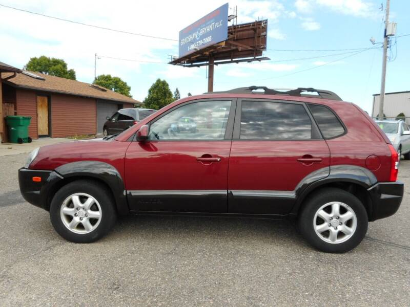 2005 Hyundai Tucson for sale at O K Used Cars in Sauk Rapids MN