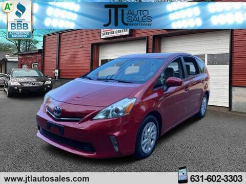 2012 Toyota Prius v for sale at JTL Auto Inc in Selden NY