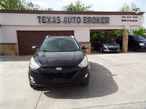 2013 Hyundai Tucson for sale at Texas Auto Broker in Killeen TX