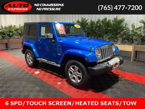 2015 Jeep Wrangler for sale at Auto Express in Lafayette IN