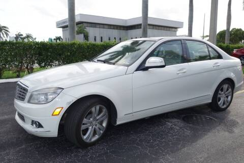 2008 Mercedes-Benz C-Class for sale at SR Motorsport in Pompano Beach FL