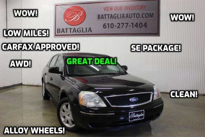 2005 Ford Five Hundred for sale at Battaglia Auto Sales in Plymouth Meeting PA