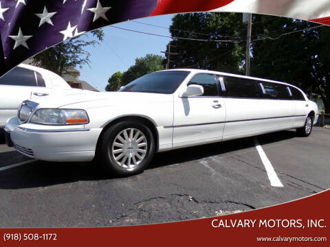 2006 Lincoln Town Car for sale at Calvary Motors, Inc. in Bixby OK