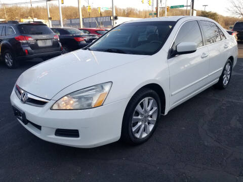 2007 Honda Accord for sale at Cedar Auto Group LLC in Akron OH