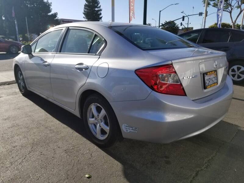 2012 Honda Civic Natural Gas 4dr Sedan - Hayward CA