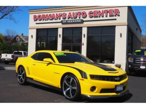 2010 Chevrolet Camaro for sale at DORMANS AUTO CENTER OF SEEKONK in Seekonk MA