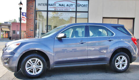 2013 Chevrolet Equinox for sale at INTERNATIONAL AUTOSPORT INC in Pompton Lakes NJ
