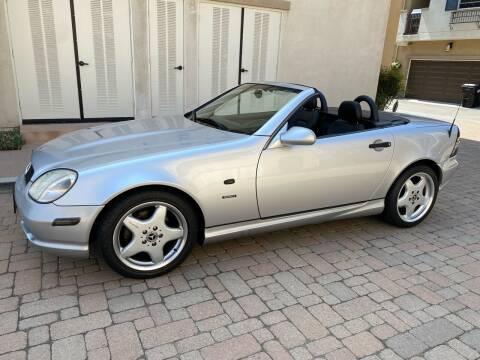 1999 Mercedes-Benz SLK for sale at California Motor Cars in Covina CA
