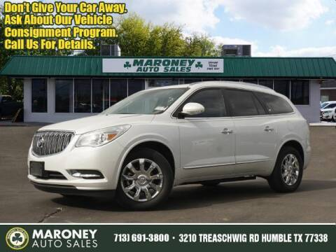 2017 Buick Enclave for sale at Maroney Auto Sales in Humble TX
