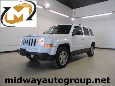 2016 Jeep Patriot for sale at Midway Auto Group in Addison TX