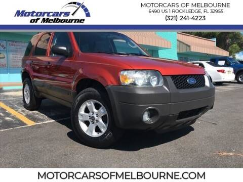 2006 Ford Escape for sale at Motorcars of Melbourne in Rockledge FL