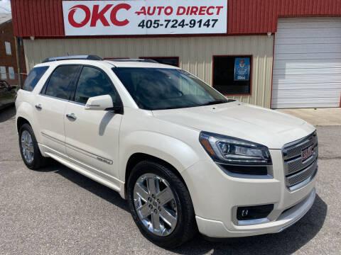 2015 GMC Acadia for sale at OKC Auto Direct in Oklahoma City OK