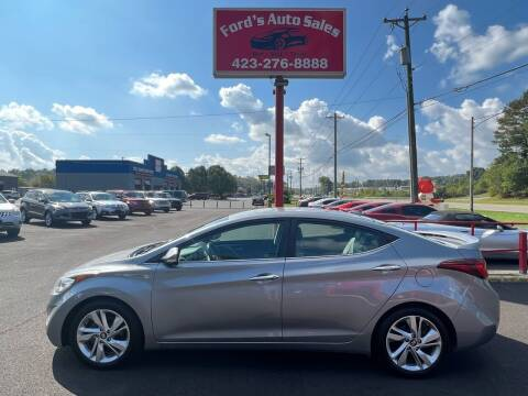 2014 Hyundai Elantra for sale at Ford's Auto Sales in Kingsport TN
