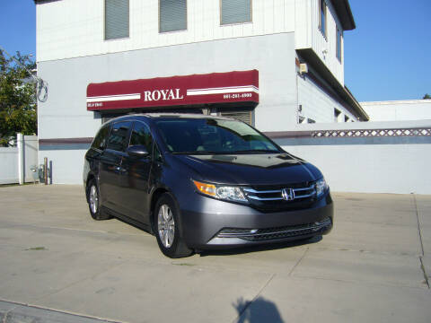 2016 Honda Odyssey for sale at Royal Auto Inc in Murray UT
