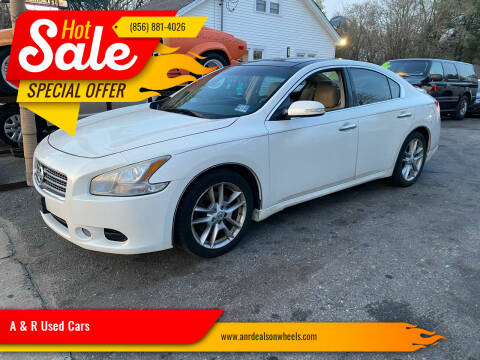 2010 Nissan Maxima for sale at A & R Used Cars in Clayton NJ