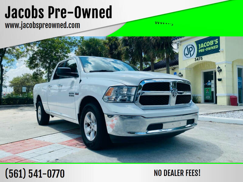 2014 RAM Ram Pickup 1500 for sale at Jacobs Pre-Owned in Lake Worth FL