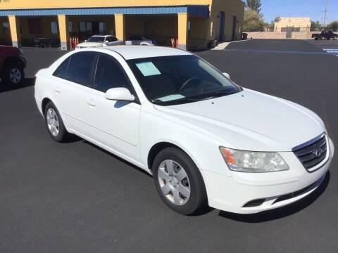 2009 Hyundai Sonata for sale at CASA DE AUTOS, INC in Las Cruces NM